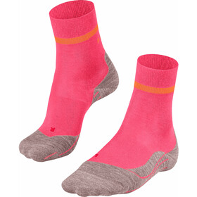 Falke RU4 Calze Donna, rosa/arancione